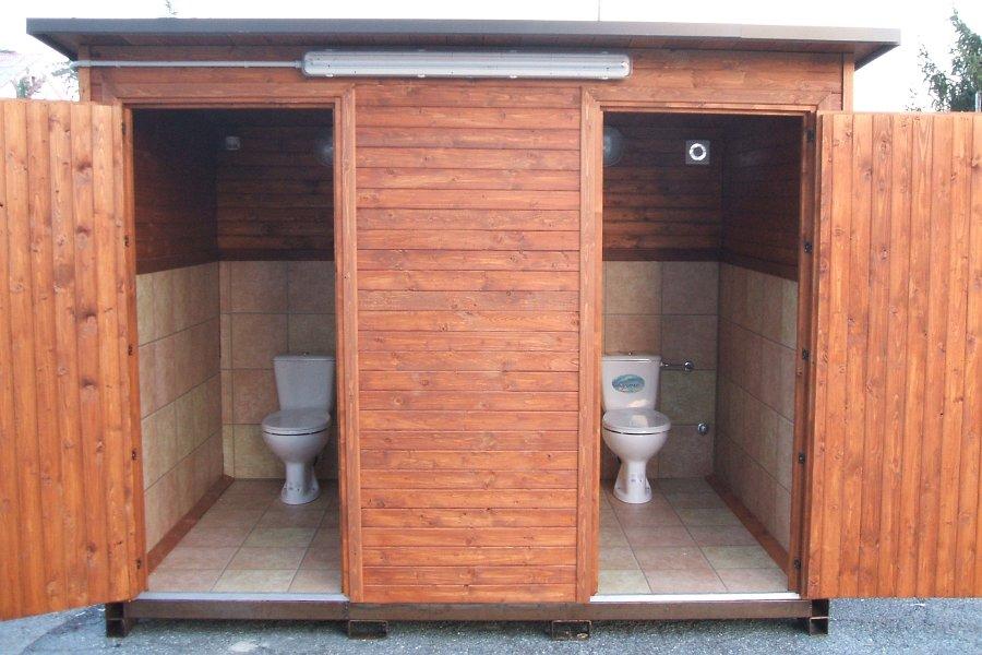 Servizi igienici mobili e per disabili - Bagni prefabbricati per esterno ...